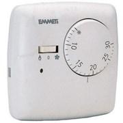 Термостат EMMETI комнатный 3контакта с выключателем и светодиодом ( 02001018 )